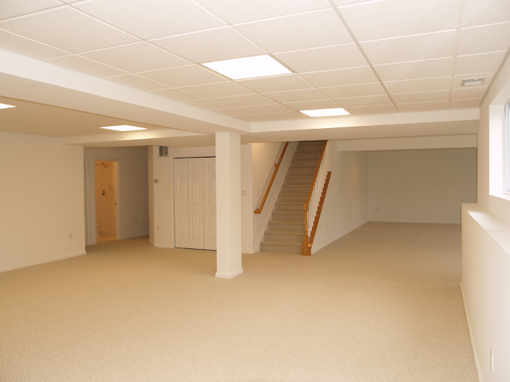 New Residential Basement Finishing, At Estates At Bordenu0027s Crossing,  Bordentown, NJ
