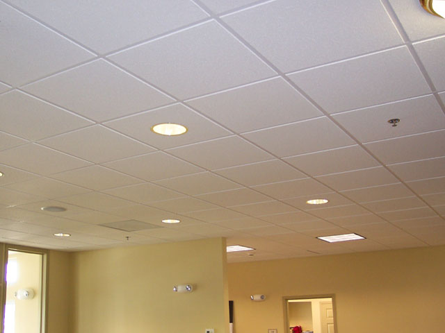 Elton Corner At Heritage Village Clubhouse Acoustic Panel Ceiling