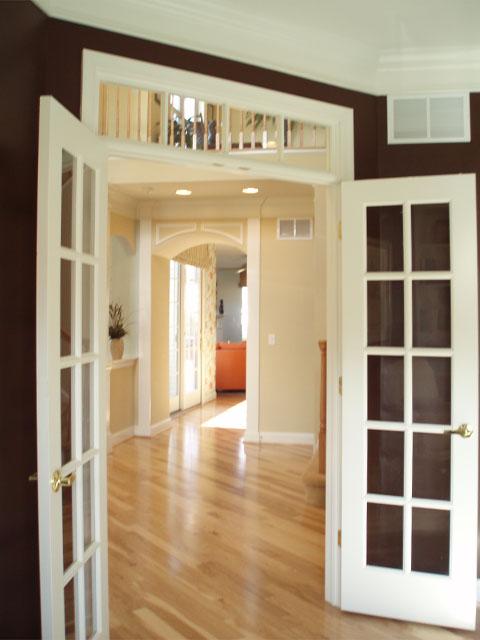Interior French Doors Den 480 x 640