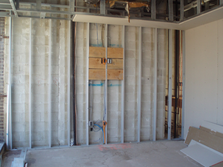 Metal Stud Wall Framing