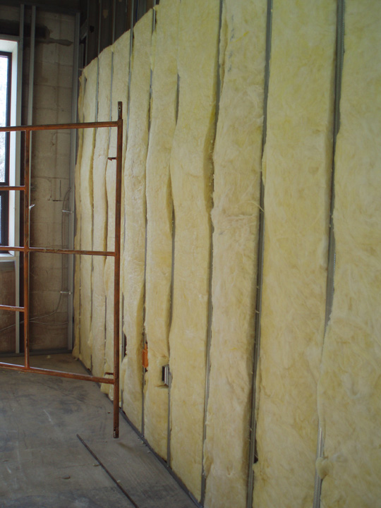 Sam paul drywall inc insulation drywall metal studs - Insulate interior walls for sound ...
